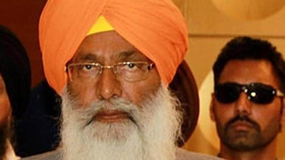 """Akali leader Sukhdev Singh Dhindsa lamented that Rahul """"chose to compare the killer hand of the Congress party and the holiest image of Guru Nanak Dev's hand of benevolence""""."""
