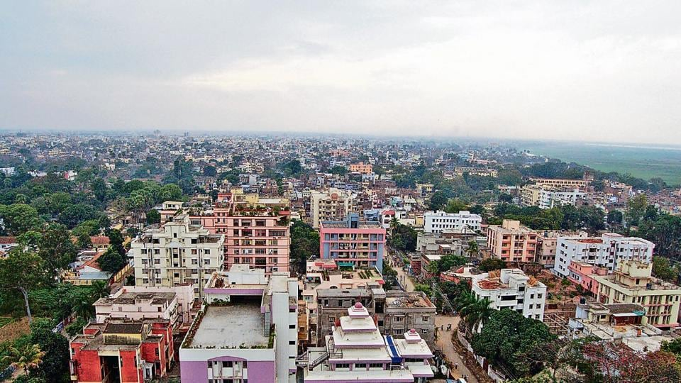 An aerial view of Patna.