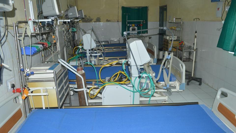 Purnia,Sadar hospital,ICU