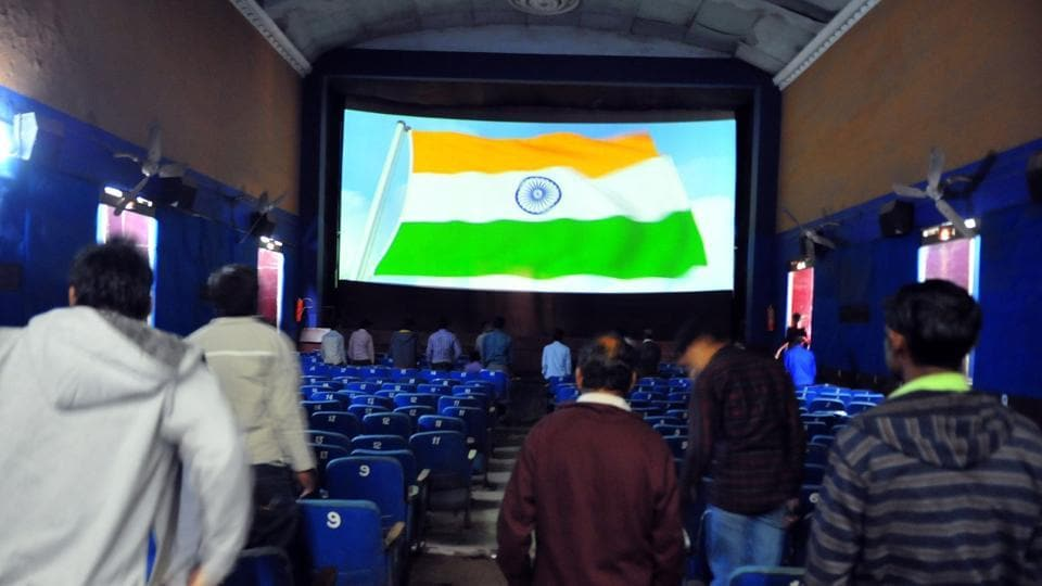 In November, the Supreme Court asked all cinemas to play the national anthem before a film is screened.