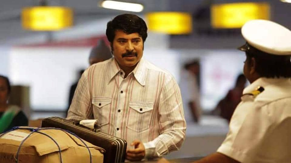 Mammootty in  a still from his new film, Pathemari.