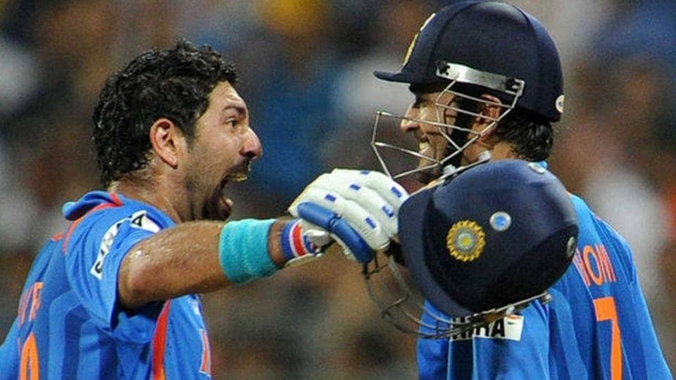 Yuvraj SIngh was the Man of the Tournament in the 2011 Cricket World Cup that India won under Mahendra Singh Dhoni