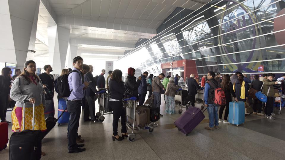 Delhi airport,Flight delay,DIAL