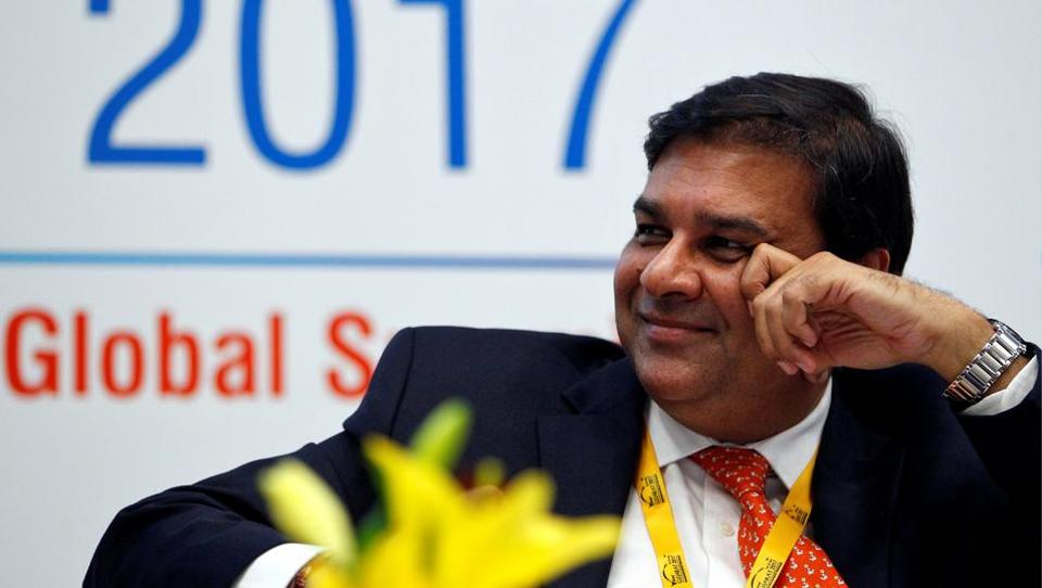 The Reserve Bank of India (RBI) Governor Urjit Patel smiles while attending a seminar during the Vibrant Gujarat investor summit in Gandhinagar on January 11, 2017.