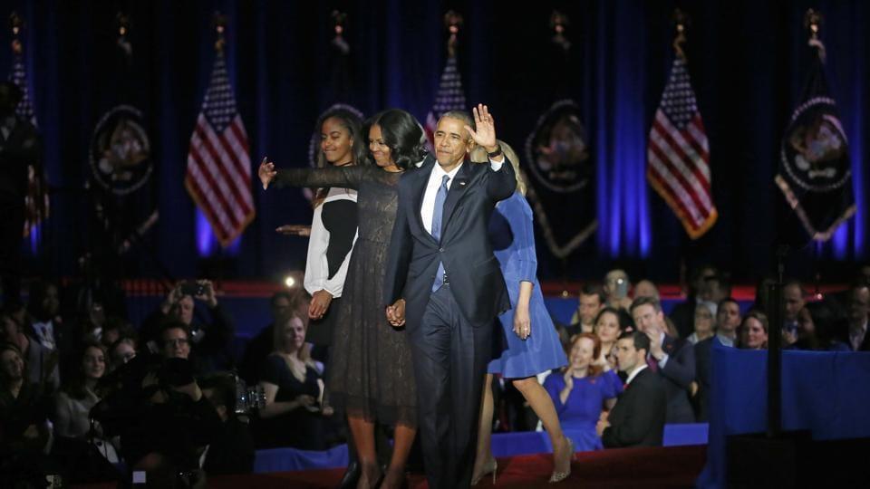 Barack Obama,Barack Obama farewell speech,Sasha Obama
