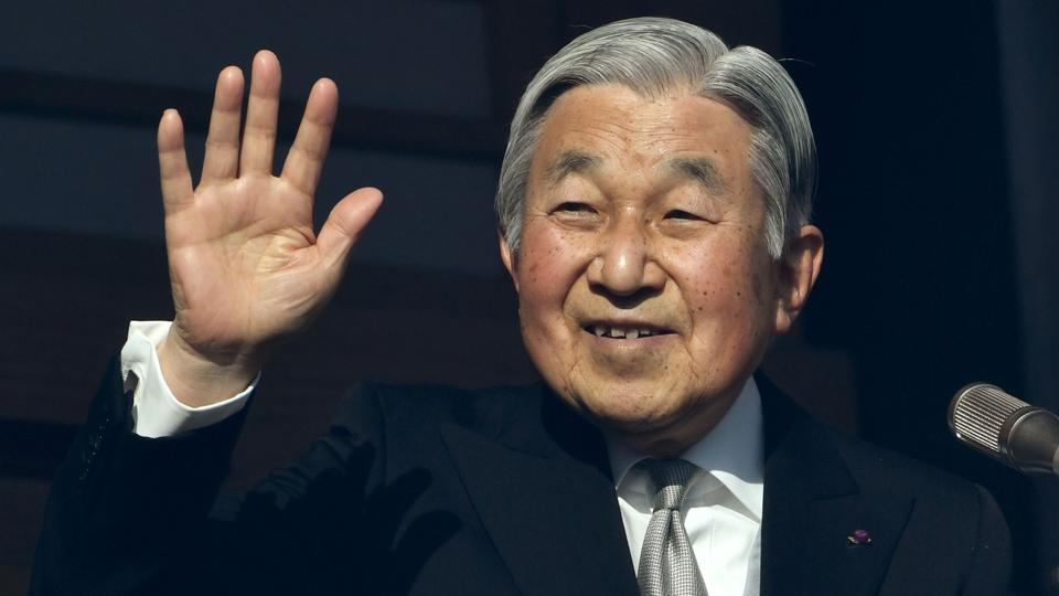 Japanese Emperor Akihito, 83, hinted in August that he wanted to abdicate, saying he worried that age might make it difficult for him to carry out his duties fully.