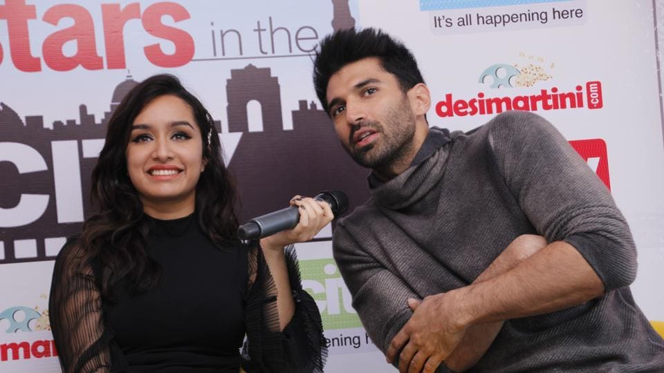 The two actors will be seen  together in Ok Jaanu for the second time after Aashique 2 (2013). (SHIVAM SAXENA/ht photo)