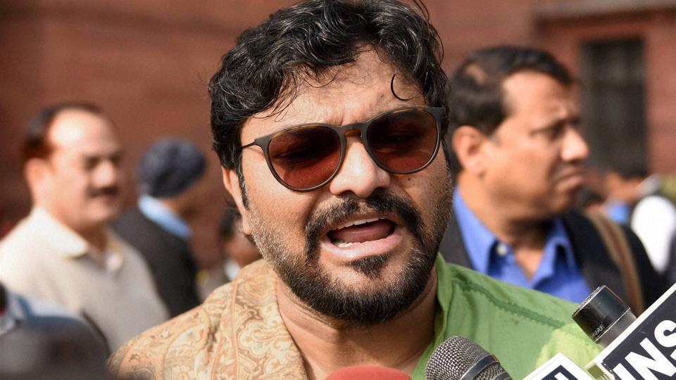 Union minister of state Babul Supriyo.