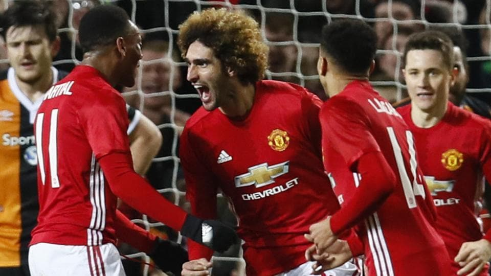 Manchester united fc beat hull city afc 2 0 in efl cup semifinal manchester united fc moved one step closer to the efl cup league cup final after goals from juan mata and marouane fellaini gave them a 2 0 win over hull voltagebd Images