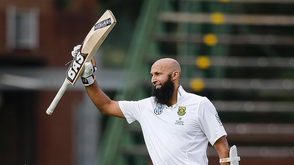 Hashim Amla became the second South African batsman to score a century in his 100th Test during the third game versus Sri Lanka in Johannesburg.