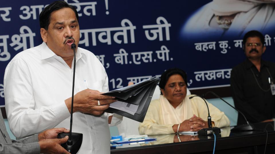 Mayawati has deployed her close lieutenant Naseemuddin Siddiqui to send her message of Dalit-Muslim 'bhaichara' in Muslim dominated constituencies.