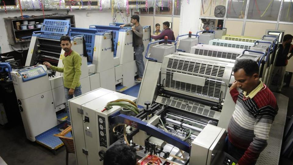 Printing industry in India