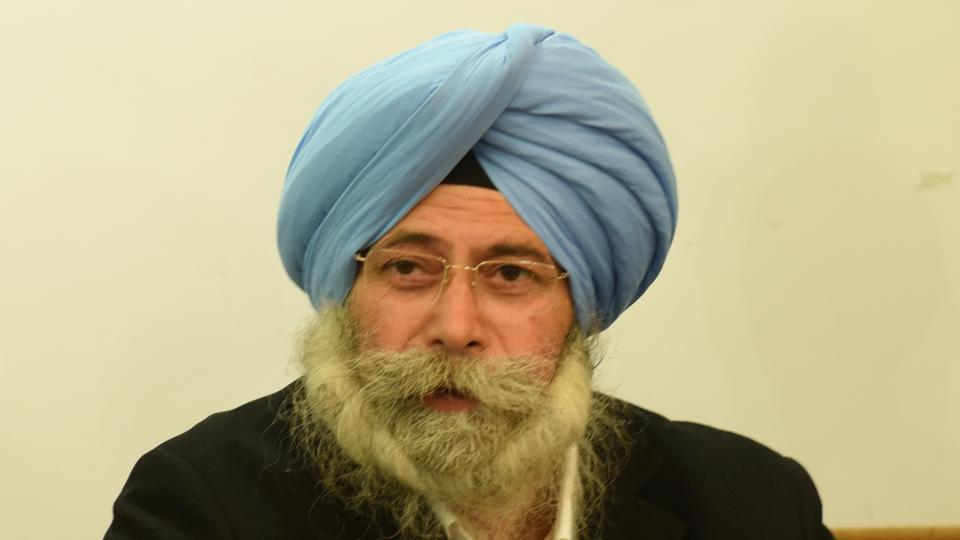 The Aam Aadmi Party candidate from Dakha, HS Phoolka