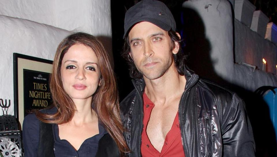 Sussanne Khan and actor Hrithik Roshan are seen at family functions and holidays together even after their divorce.