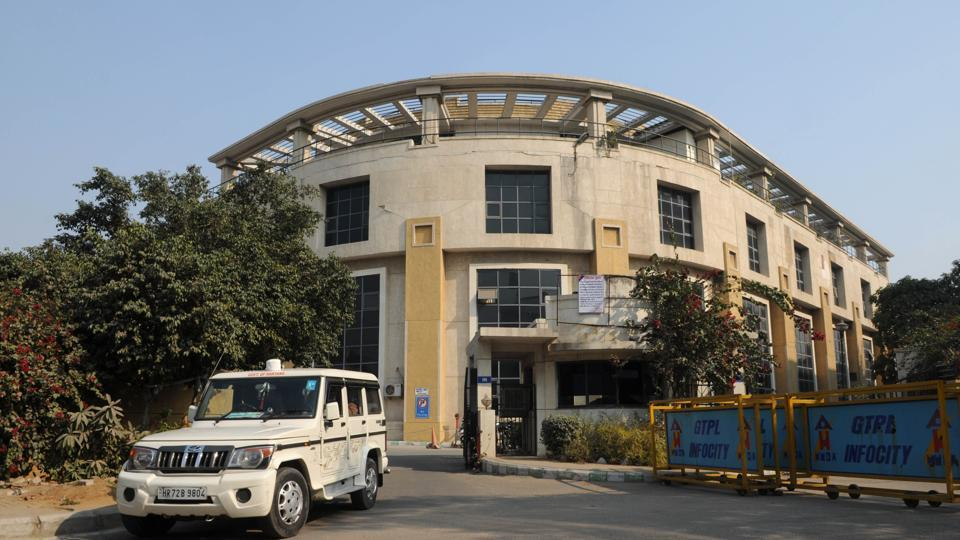 The Municipal Corporation Gurgaon office in Sector 34.