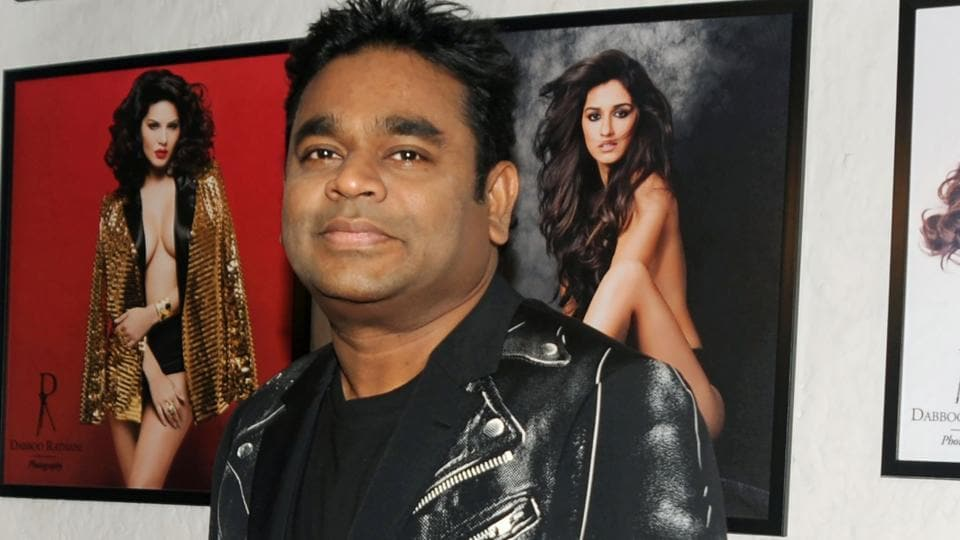 AR Rahman also attended the event. (AFP)