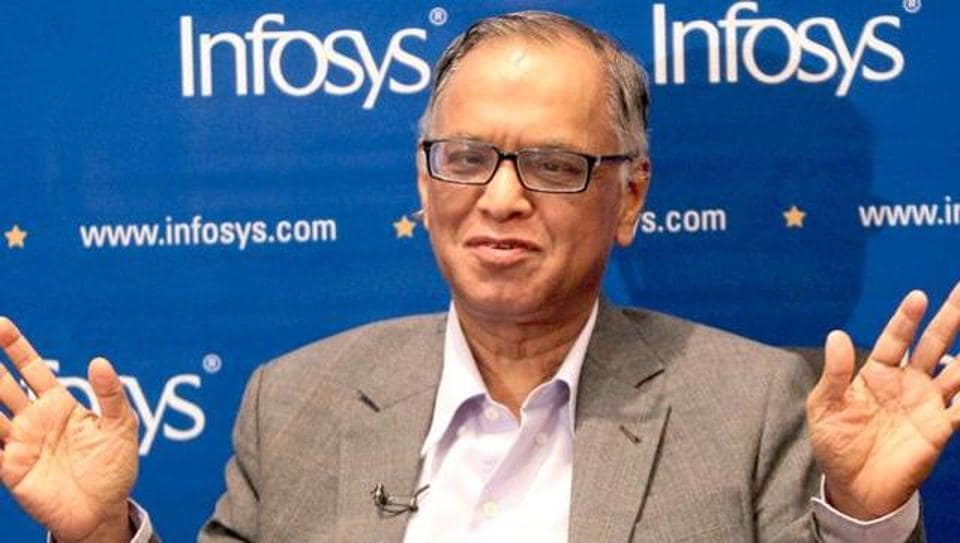 Co-founder and former chairman of Infosys Technologies NR Narayana Murthy. (PTI Photo)
