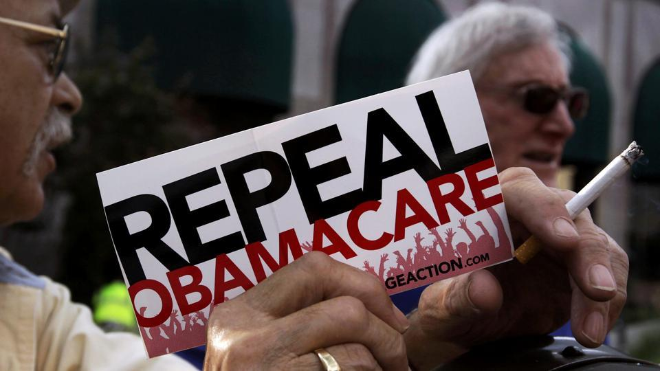 The Senate passed a measure to take the first step forward on dismantling President Barack Obama's healthcare law.