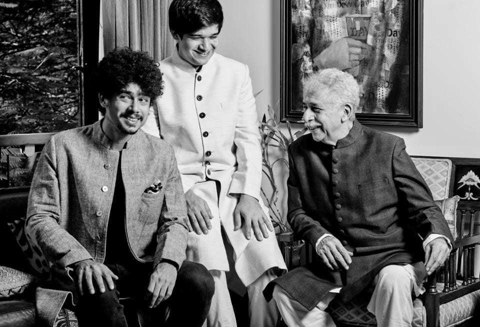 Imaad and Vivaan are theatre babies. Just like Ratna herself. She grew up watching her mother (Dina Pathak) perform on stage and her kids grew up watching her and me – Naseeruddin Shah (Prabhat Shetty    )