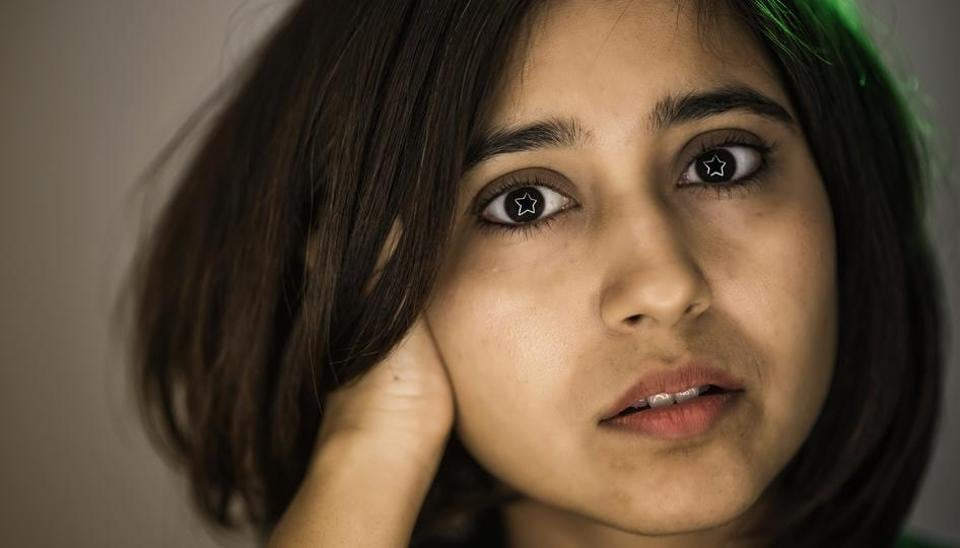 Actor Shweta Tripathi poses for an exclusive shoot for HT 48 Hours