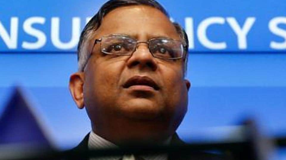 N Chandrasekaran used to walk three km to school and lived with his brothers when he started working.