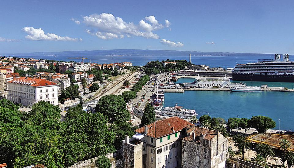 Split, one of Croatia's most popular islands