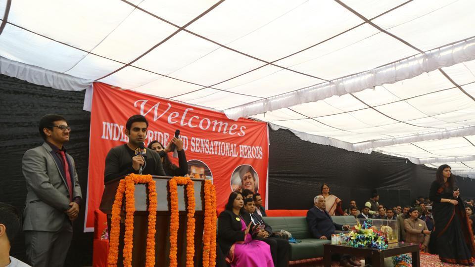 Ramjas College,Gautam Gambhir,Delhi Univeristy