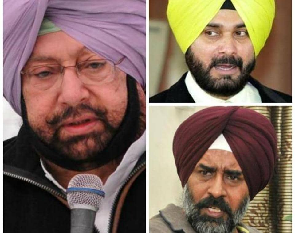 The problem is not whether Mr or Mrs Sidhu will contest, but when is Mr Sidhu joining the Congress.  Former Indian Hockey captain Pargat Singh would like to score another win but Amarinder wants former MLA Jagbir Brar to bat. Neither is ready to blink first.