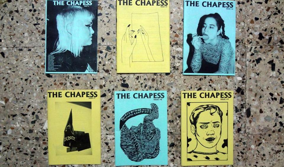The Chapess, which showcases works by women writers around the world, is one of 140 zines being showcased at the Bombay Zine Fest.