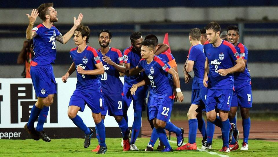 Defending champions Bengaluru FC will aim to continue their good start against new team Chennai City FC in the second round I-League football match at the Kanteerava Stadium in Bengaluru.