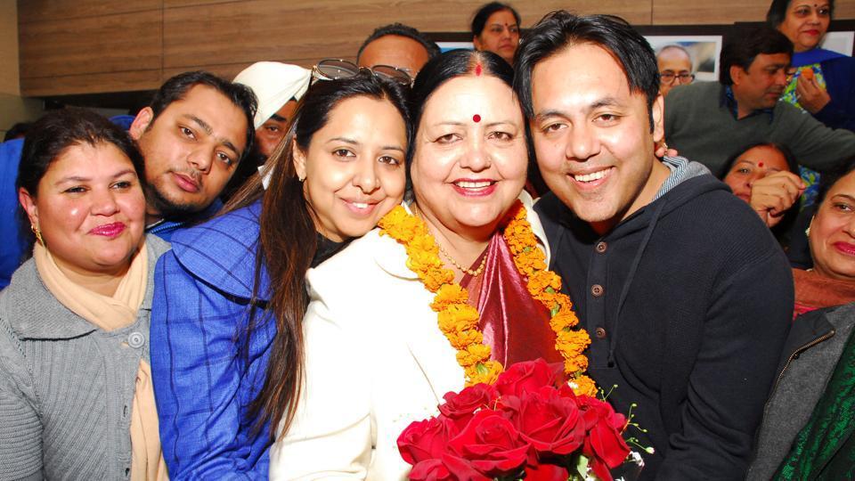 Asha Jaswal,new mayor,Chandigarh