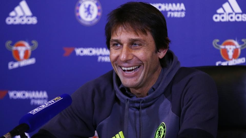Chelsea head coach Antonio Conte was named Premier League Manager of the Month for December.