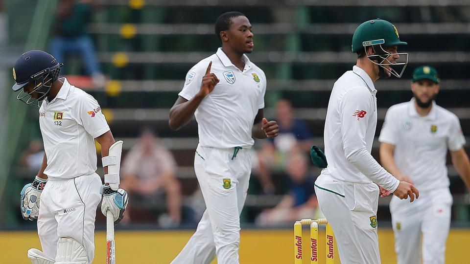 Fast bowlers Kagiso Rabada and Vernon Philander haunted Sri Lanka's batsmen as South Africa took full control of the third test on Day 2 at the Wanderers.
