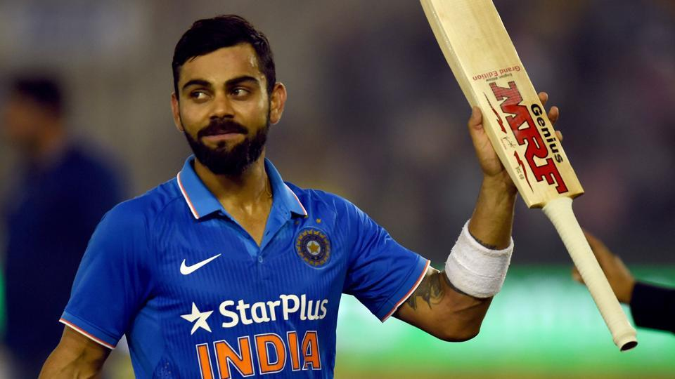 Virat Kohli, who will lead India cricket team for the first time in ODIs against England on Sunday, shared a photo of him on social media from his younger days with cricket teammates.
