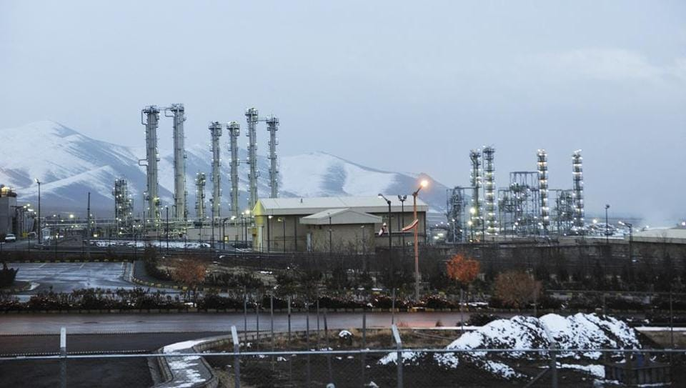 This Jan. 15, 2011 file photo shows Iran's heavy water nuclear facilities near the central city of Arak 150 miles (250 kilometers) southwest of Tehran.