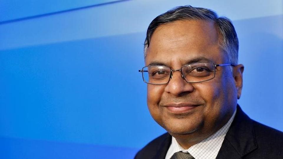 TCS CEO N Chandradsekaran was named Tata Sons chairman.