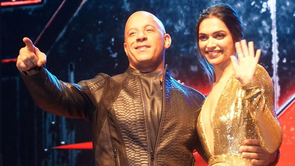 Vin Diesel and Deepika Padukone charmed all at the premier of their new film, xXx: Return of Xander Cage, at PVR Cinema, High Street Phoenix, Lower Parel, Mumbai on January 12, 2017. (Prodip Guha/HT PHOTO)