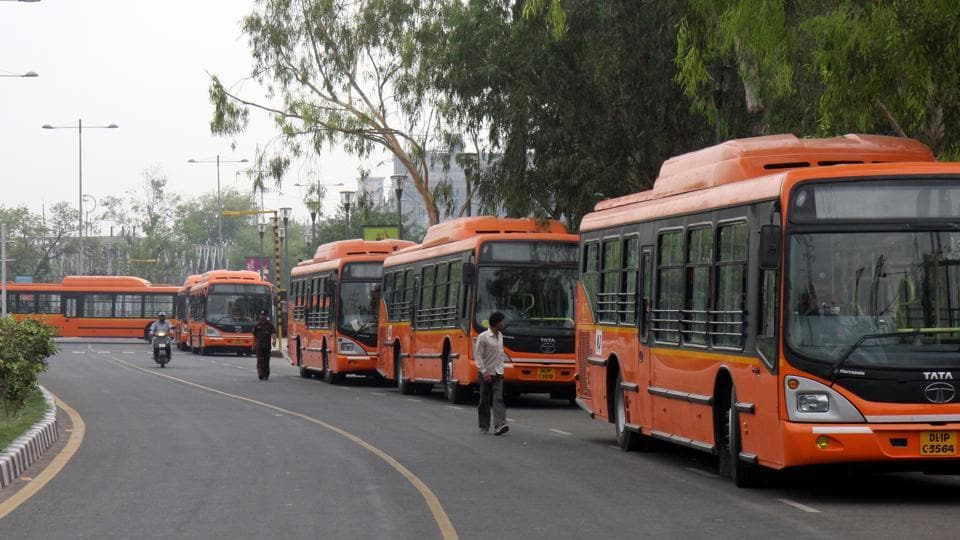 Last year, the apex court gave a year's time for DTC to shift the bus shelter near the Yamuna bank.