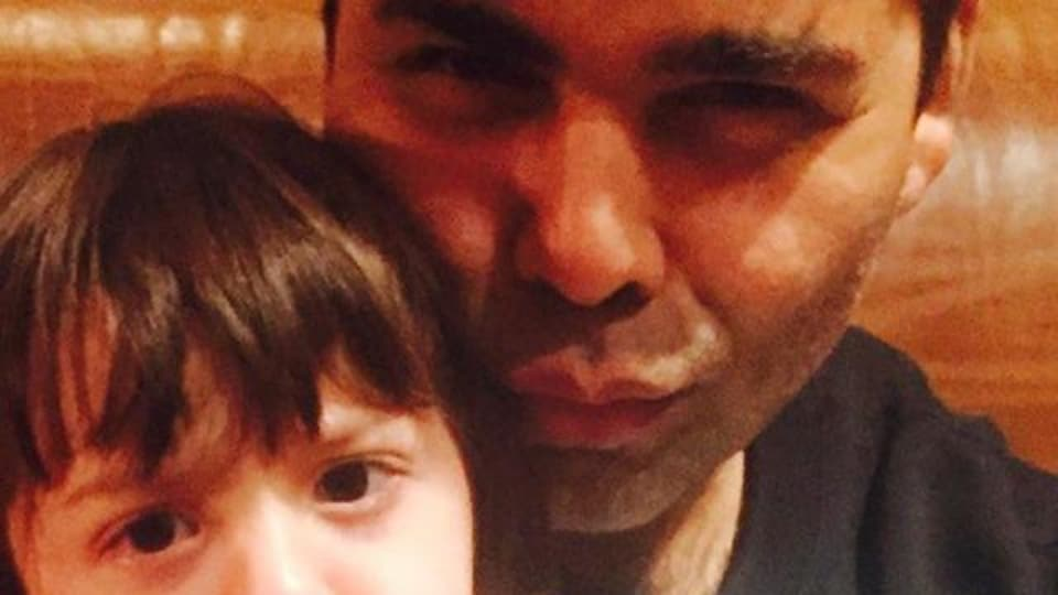 Karan Johar often expresses his love for Shah Rukh Khan's kid AbRam on social media.