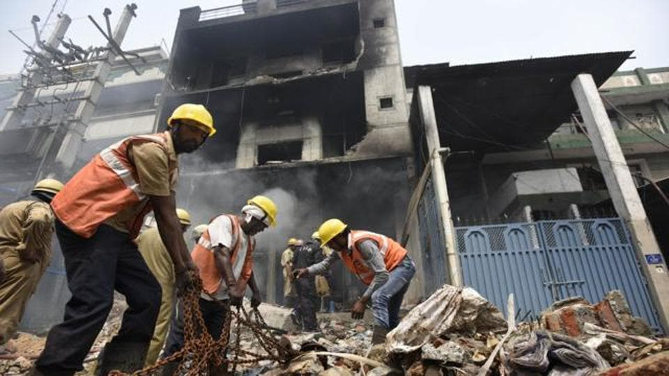 Fire in Gurugram,Gurgaon,Children burnt alive