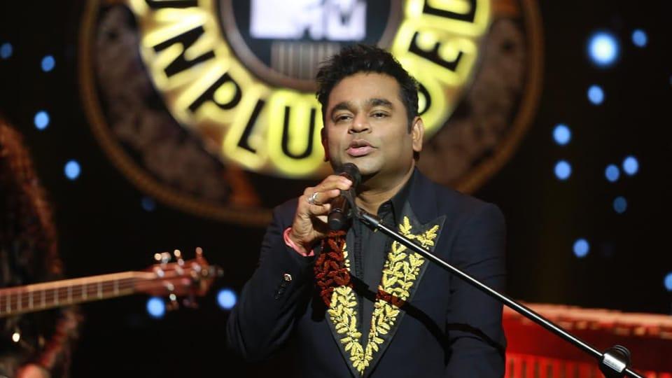 AR Rahman,Urvasi Urvasi,MTV Unplugged