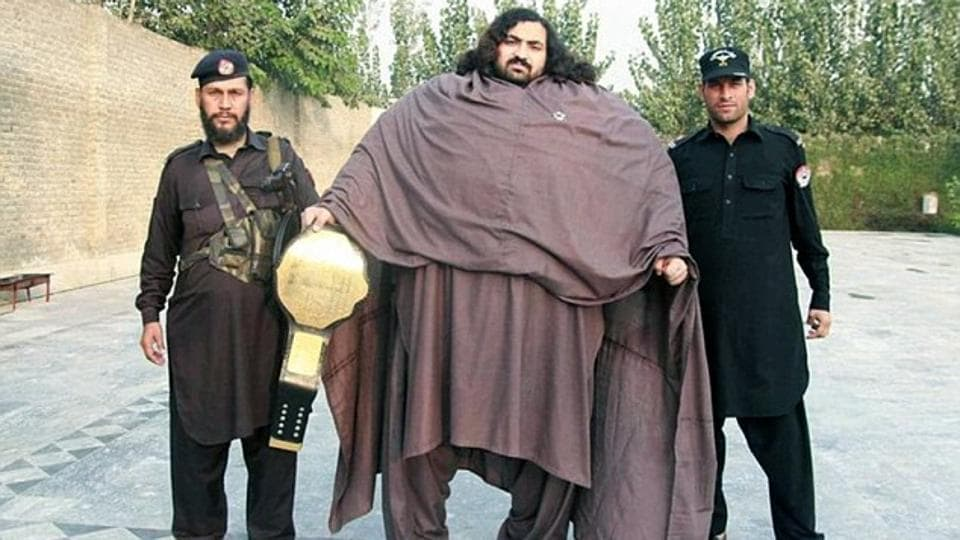 Hayat weighs 435 kgs and eats 10,000 calories a day. His diet involves consuming 36 eggs, 7 pounds of meat and 5 litres of milk in a single day alone