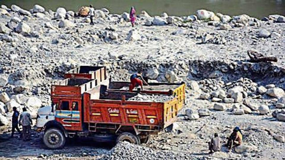 With assembly elections in the state only a month away, focus is back on the state's multi-crore stone quarrying business for allegedly making clandestine political funding in a bid to influence the poll results.
