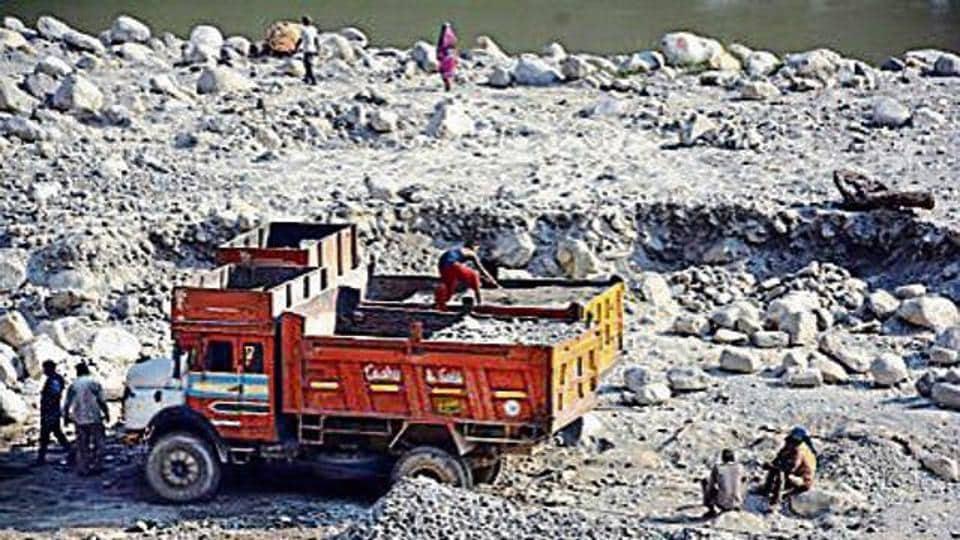 Quarrying in Uttarakhand