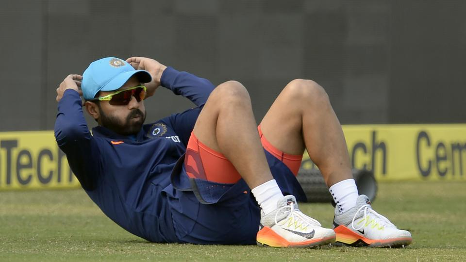 The  pressure will be on Ajinkya Rahane, who has struggled for form but showed glimpses in his 91 for India A against England in the warm-up game. (AFP)