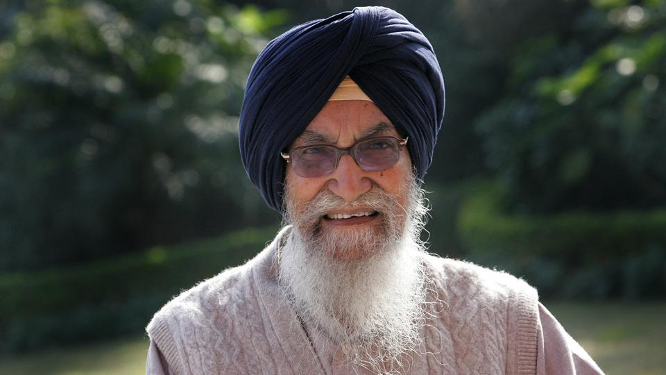 Former Punjab Chief Minister Surjit Singh Barnala.