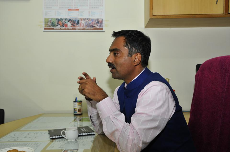 A communication was sent to then Gurgaon's Deputy Commissioner TL Satyaprakash (above) on November 23, 2016, by principal secretary, industries and commerce (PSIC), Devender Singh, on a representation submitted by a private firm for setting up a special economic zone (SEZ) in the area to the state government.