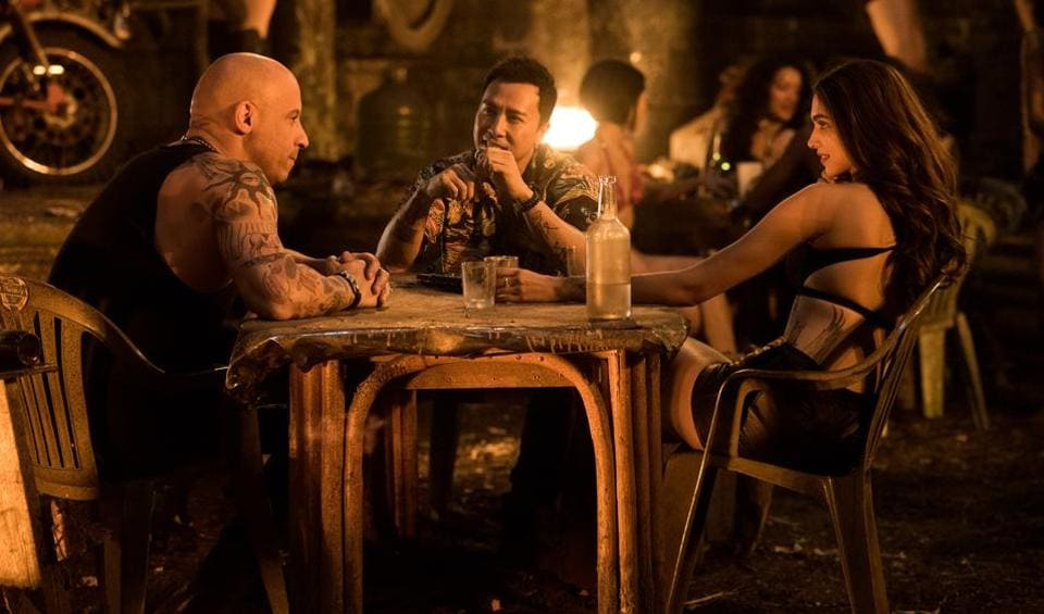 The tattooed, muscle-bound Vin Diesel is back as an extreme-sports athlete. This time, he must prevent a nefarious adversary from procuring a weapon of mass destruction, or some such thing.
