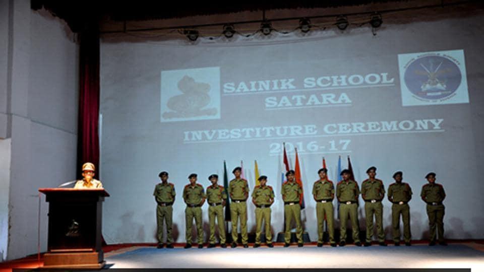 Sainik School,Sainik School Satara,School Fee cut