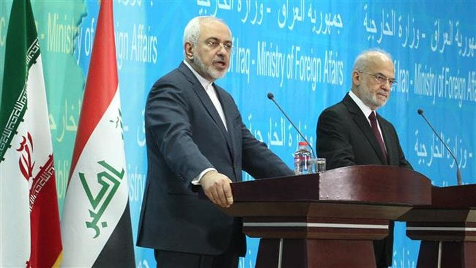 Iraq's foreign minister said he had carried messages between Iran and Saudi Arabia in a continuing attempt to curb a feud involving its two neighbours